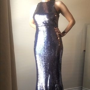 Holiday party Sequin Evening Gown